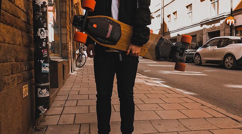 Skateboard ou longboard électrique